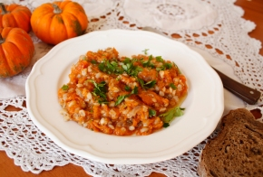 Barley Pumpkin Risotto With a Hint of Emilia-Romagna