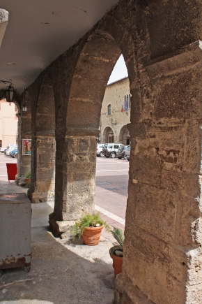 Close-up: The Archways of Campli, Abruzzo