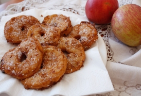 Very Naughty Apple Fritters from Alto Adige